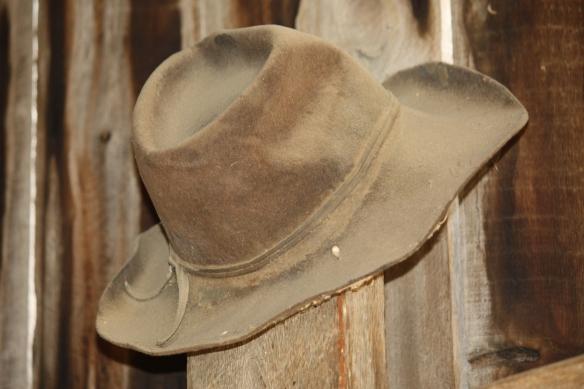 A little dusty, but still a good hat!