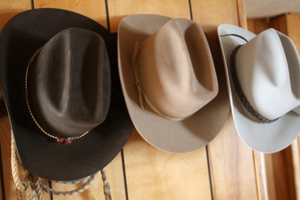 Dad's old Stetson hats haven't lost their groove . . .