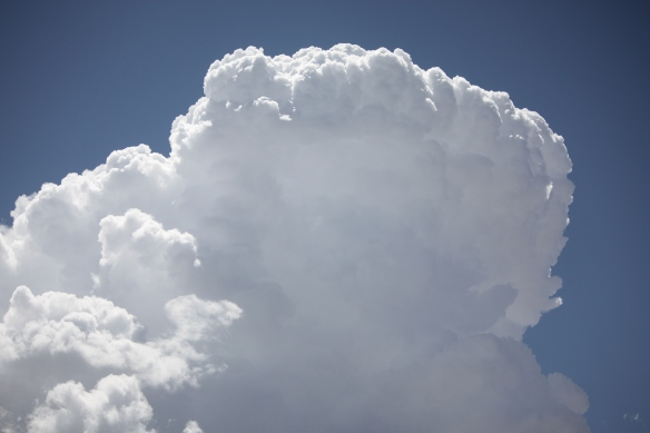 Thunderheads - the Gods must be stirring! . . . .