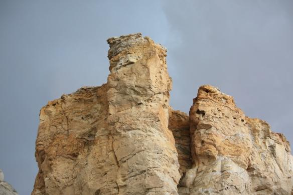 Castles carved in sand . . . .