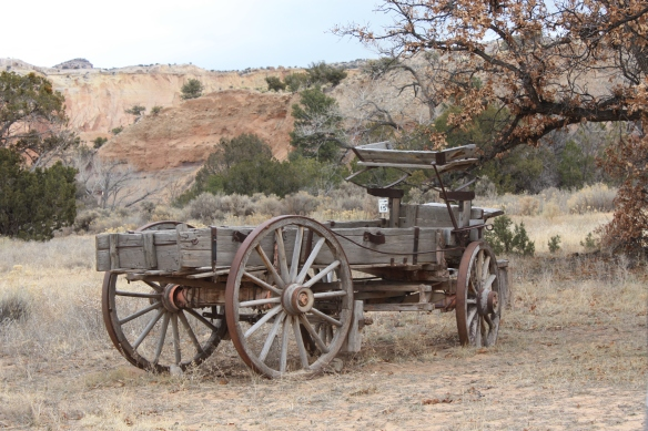 Ghost Ranch relic . . . .