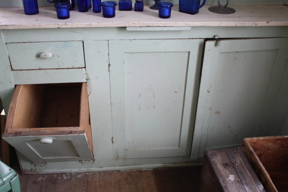 Kitchen built-ins . . . .