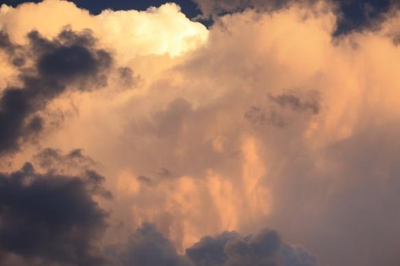 Thunder and sun . . . .
