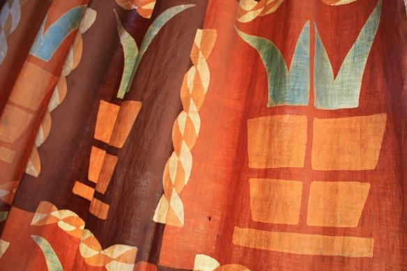 Designer draperies . . . .